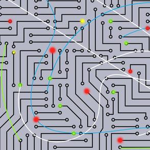 Data Positronic Circuitry