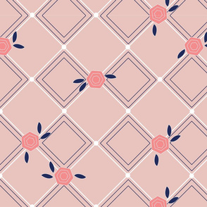 Geometric Roses
