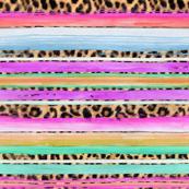 serape leopard pinks