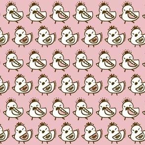 Dancing birdies Pink