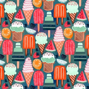 Warm Yum-Summer Ice Cream