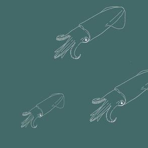 Teal Squid