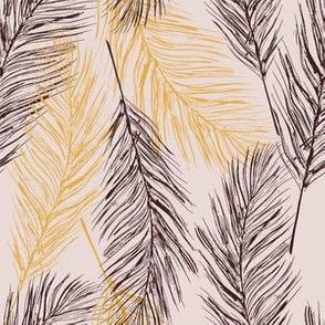 Feather boho