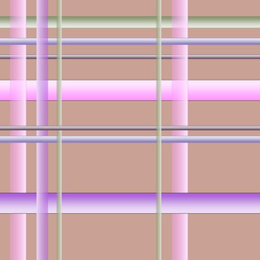 QUAIL PLAID pink and lilac