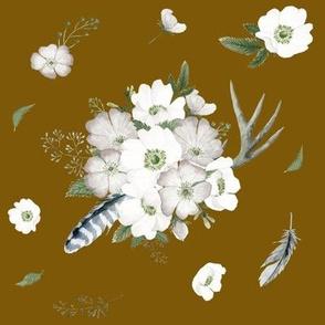 Rustic Woodland Florals // Carmel