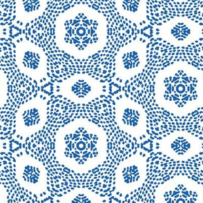 white blue ethnical african texture