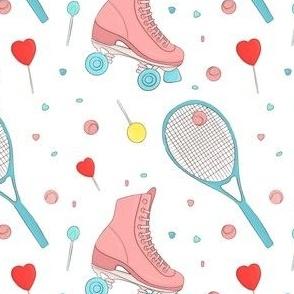Rollers tennis summer