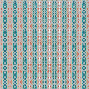 """Point Aztec - Teal - 2"""""""