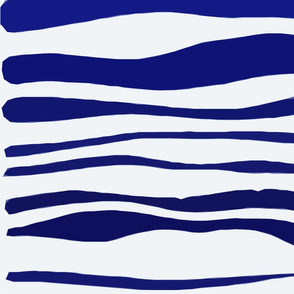 Wavy Lines square fabric
