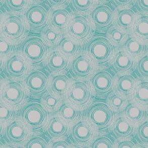 Silver- grey spirals
