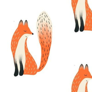 Clever Woodland Fox