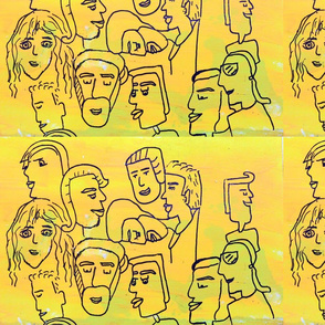 Yellow faces