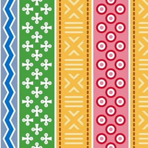 08823279 : mudcloth : christmascolors