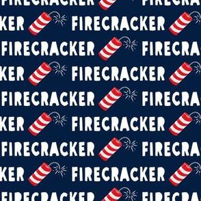 Firecracker - navy - LAD19