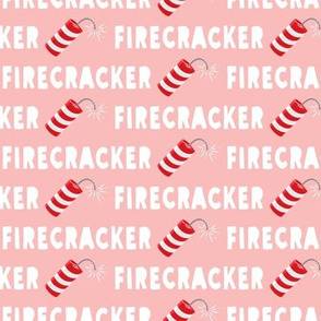 Firecracker - pink - LAD19