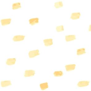Yellow Brushstrokes