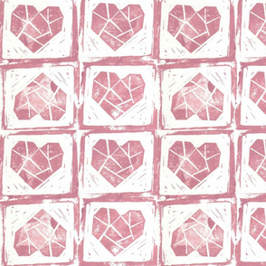PATTERN STAMP HEART