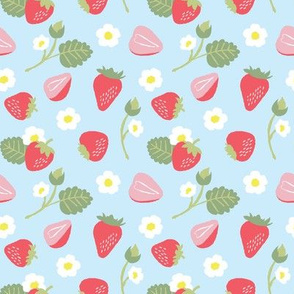 Strawberry Shortcake Blue