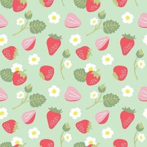Strawberry Shortcake Green