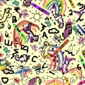 Crayon Artists Rainbow Weather creamy white