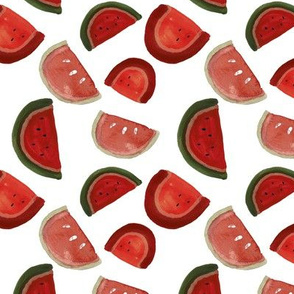 summer watermelon classic red