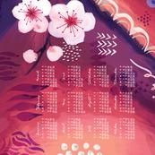 2020 Calendar, Sunday /  Desire