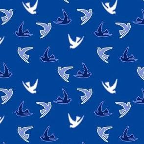 White-Blue-Doves