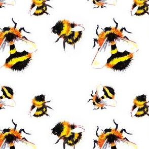 Yellow Bumblebees