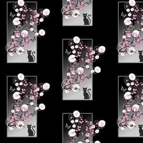 Midnight Blossom - black