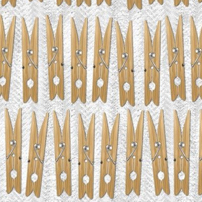 Clothespins - the undyed version