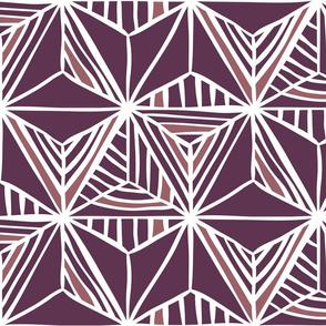 Geometric Lilac Love
