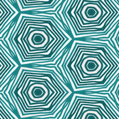 Shibori Aqua Swirl