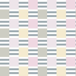 Liquorice Allsorts ribbon weave - pastel colors
