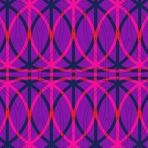 curved abstract pink-purple