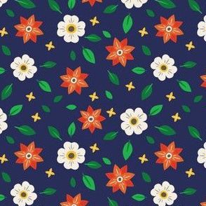 spicy flower pattern