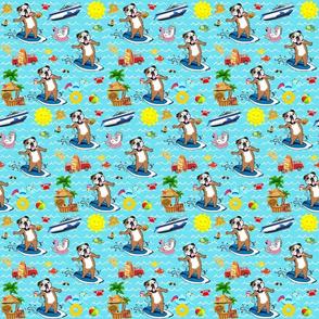 Claude fabric White Boat