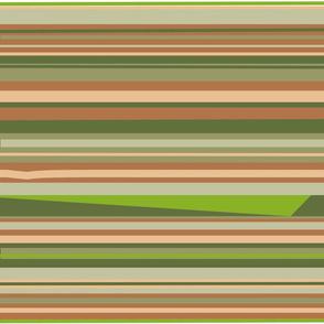 minimalist green triangle