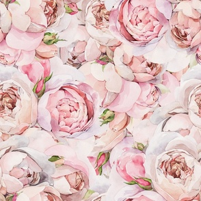 Watercolor Roses 025