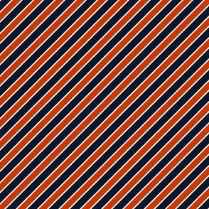 Chicago Bears Stripes team colors SMALL