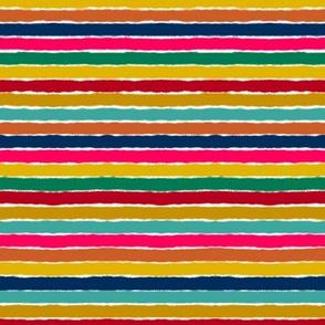 Bhutan Colorful Stripes