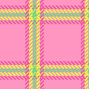 Cher's Plaid - Pink