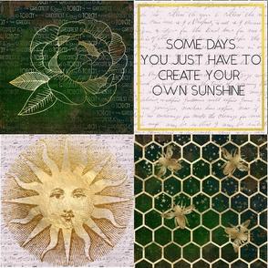 Sunshine & Bees Patchwork