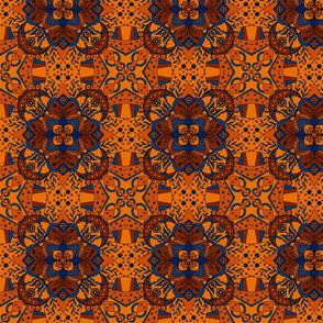 Afghan Tiled Geometric
