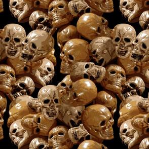 Paint by skulls