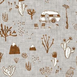 Happy Desert (rust) MED