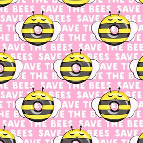 bee donuts - save the bees pink - doughnuts  - LAD19