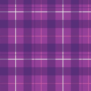 Royal Purple Plaid