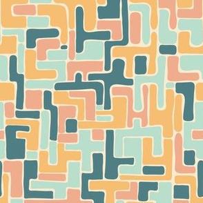 Abstract Minimalist Pastel