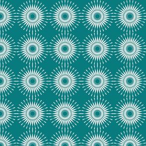 Spanish Tile - Sunburst (inverted)