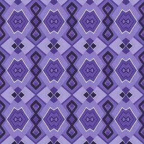 Violet Abstract Minimalism